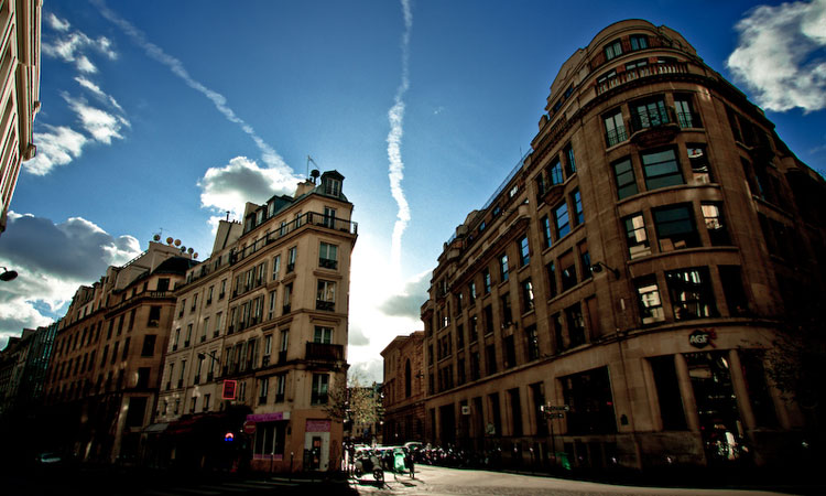 Luxury real estate in the 2nd district of Paris