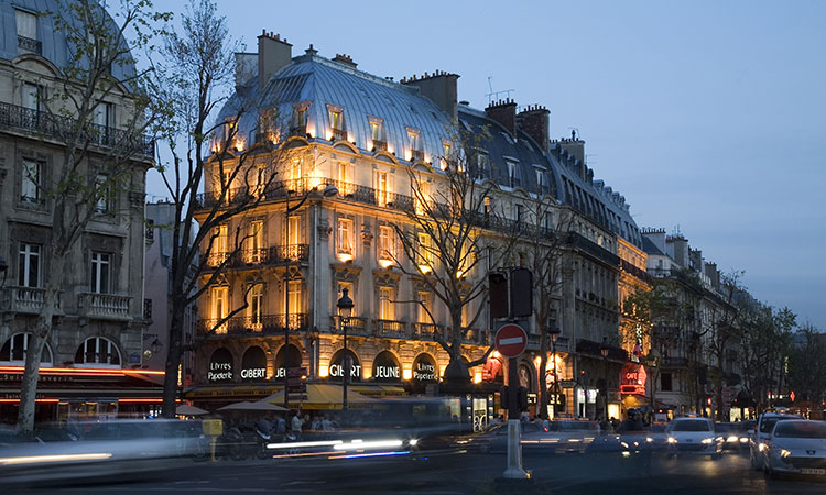 Luxury real estate in the 5th district of Paris