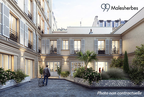 Perspective projet 99 Malesherbes