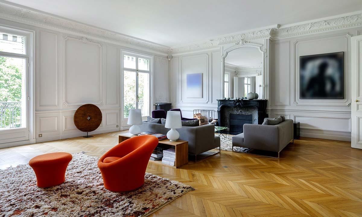 Paris 75008 - France - Apartment, 8 rooms, 4 bedrooms - Slideshow Picture 1