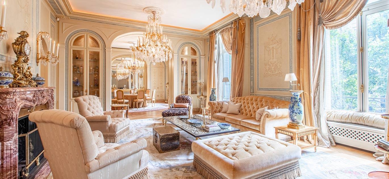 Paris 75016 - France - Apartment, 8 rooms, 4 bedrooms - Slideshow Picture 1
