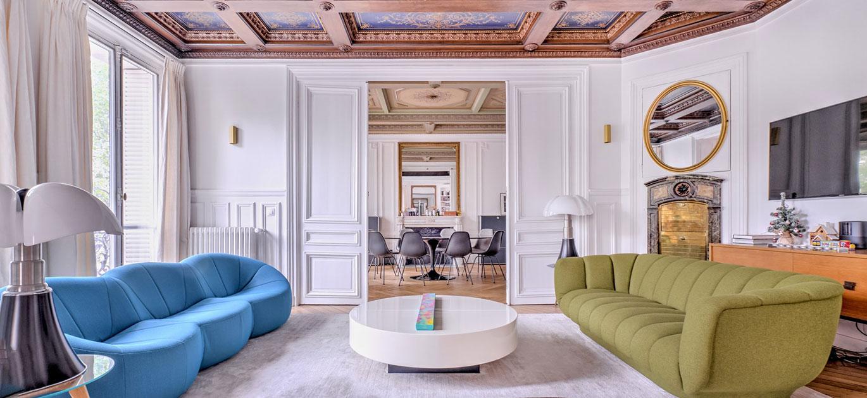 Paris 75010 - France - Apartment, 8 rooms, 4 bedrooms - Slideshow Picture 2