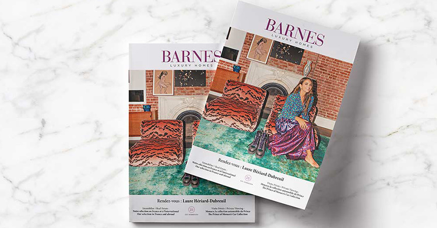 The new Summer 2019 edition of our magazine BARNES Luxury Homes is available.