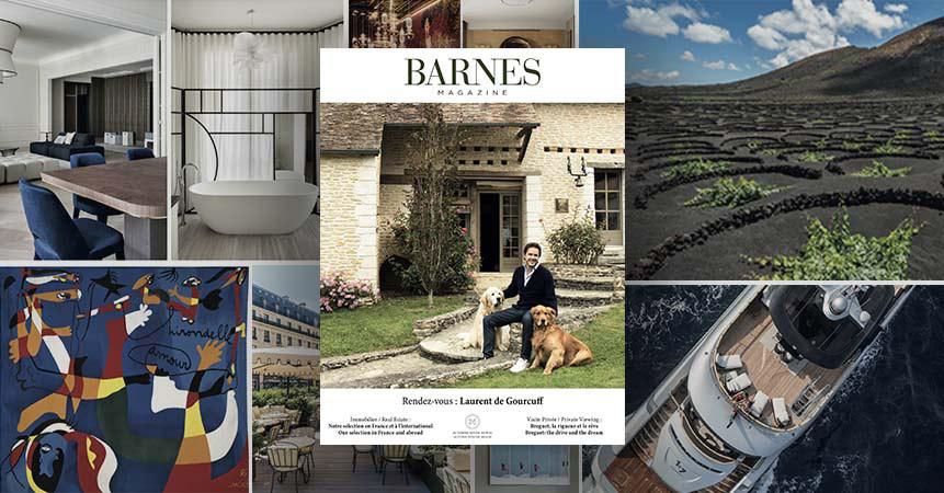 La edición otoño-invierno 2019 de la revista BARNES llega con un toque francés