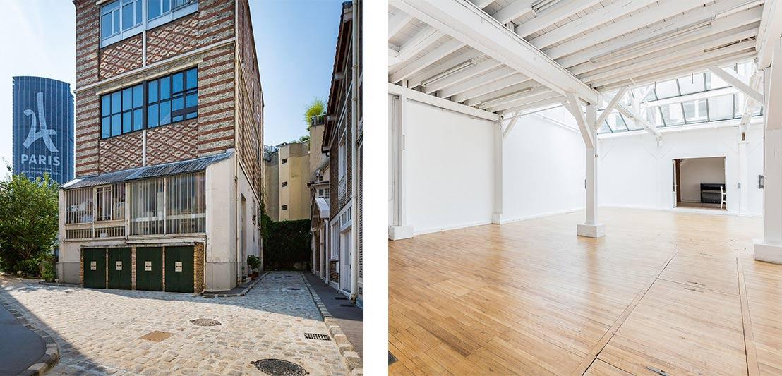 Artists loft for sale in Paris